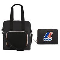 K-Way shopping bag richiudibile k way le vrai 3.0 violette black