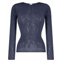 Wolford maglione a fiori ninat - blu