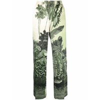 F.R.S For Restless Sleepers pantaloni con stampa - verde
