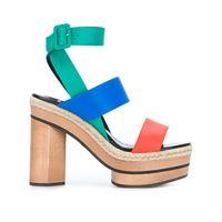 Pierre Hardy sandali con design color-block - multicolore