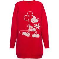 Miu Miu maglione miu miu x disney mickey mouse con ricamo - rosso