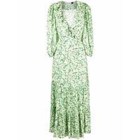 Rixo abito lungo frida - verde