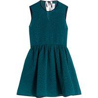 Victoria Victoria Beckham abito svasato - verde