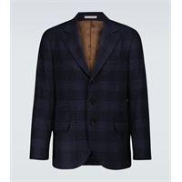 Brunello Cucinelli blazer in lana e cashmere