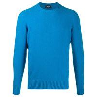 Drumohr maglione a girocollo - blu