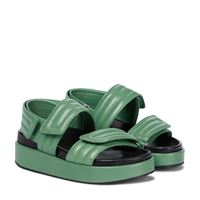 Dries Van Noten sandali slingback in pelle