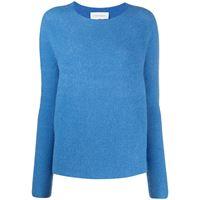 Christian Wijnants maglione kasima a coste - blu