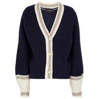 Lee Mathews cardigan in misto lana a coste