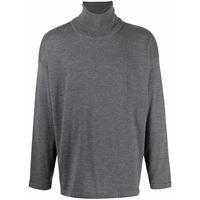 Société Anonyme maglione a collo alto - grigio