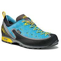Asolo scarpe trekking apex goretex vibram eu 37 1/2 donkey / cyan blue