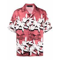 AMIRI camicia playboy bunny con stampa - rosso