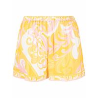 Emilio Pucci shorts albizia con stampa - giallo