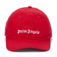 Palm Angels Kids cappello da baseball in cotone con logo