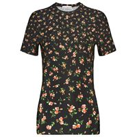 Paco Rabanne t-shirt in jersey stretch con stampa