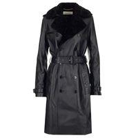 SAINT LAURENT giacca donna 625203ycci21000 pelle nero