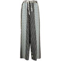 Pierre-Louis Mascia pantaloni con stampa patchwork - multicolore