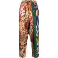 Pierre-Louis Mascia pantaloni con stampa - multicolore
