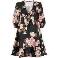 We Are Kindred abito corto a fiori clara - nero