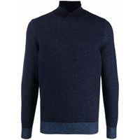 Malo maglione con spacco - blu