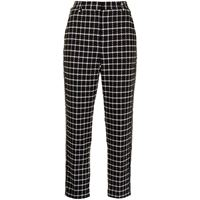 Rebecca Vallance pantaloni a quadretti cory - blu