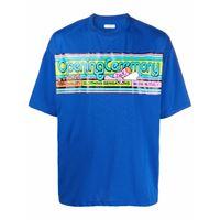 Opening Ceremony t-shirt cartoonish con stampa - blu