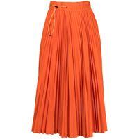 Toga x dickies high-waisted pleated skirt - arancione