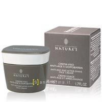 Bios Line nature's hematite crema viso anti age e dopobarba